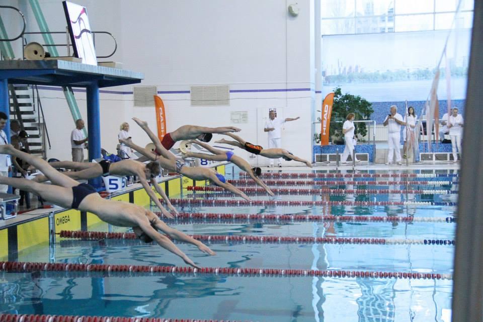 На чемпионате Украины по плаванию в Днепропетровске установлены юниорские рекорды Украины